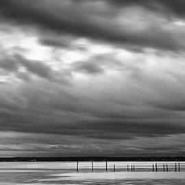 Storm Clouds Over The Neuse River - Eastern NC by Bob Decker