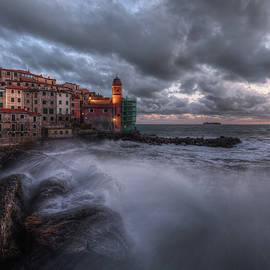 Storm Tellaro by Giovanni Laudicina
