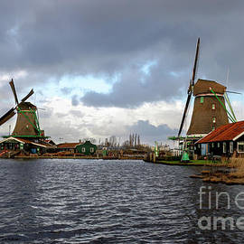 Storms Over Windmills by Norma Brandsberg