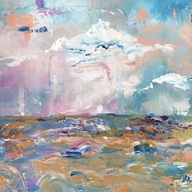Stormy Sea by Nancy Rabe