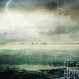 Stormy Seas by Kelley Freel-Ebner