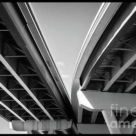 Straight and Curved Overpasses  by Imagery by Charly