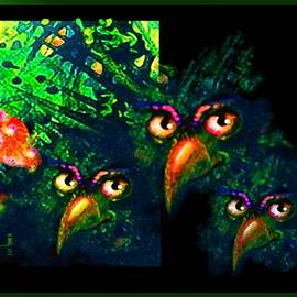 Strange Birds by Hartmut Jager