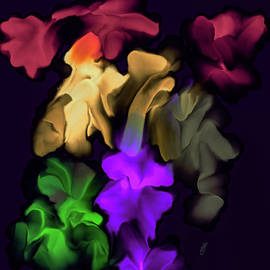 Strange flowers #k8 by Leif Sohlman