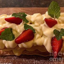 Strawberry Napoleon Cake by Noa Yerushalmi
