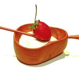 Strawberry Slider by Alida M Haslett
