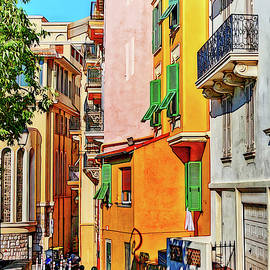 Street and colors in Monaco, Europe by Tatiana Travelways