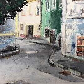 Street In Eisenstadt, Austria by Danielle Rosaria