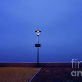 Street Lamp at Lake Geneva by Imi Koetz