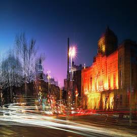 Street  light Stockholm by Mikael Jenei