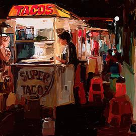 Street nightlife Panajachel, Guatemala by Tatiana Travelways