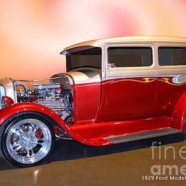 Street Rod  Ford Model A by Thomas Burtney