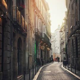 Streets of Bordeaux France Evening Light  by Carol Japp