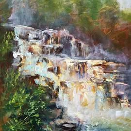 St.Regis Falls by B Rossitto
