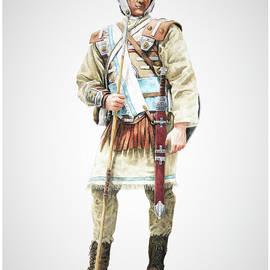 Stripling Soldier lite infantry by Charles Marvil