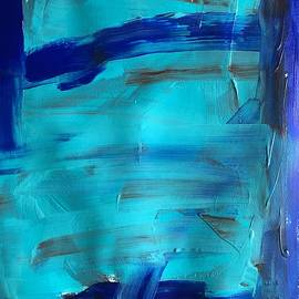 Study of a Lake by Melissa Mintz