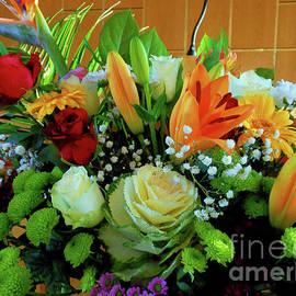 Stunning Sunlit Floral Display by Kathryn Jones