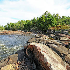 Sturgeon Chutes The Natural Divide by Debbie Oppermann
