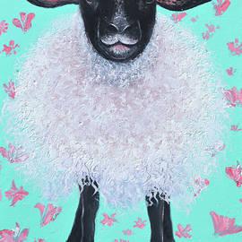 Suffolk Sheep, Saffron by Jan Matson