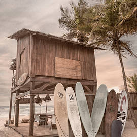 Summer Cottage Surf Shack by Debra and Dave Vanderlaan