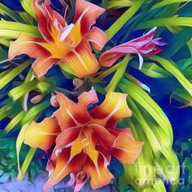Summer Day Lilies by Mindy Newman