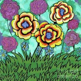 Summer Flowers by Caroline Street