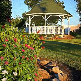 Summer Garden Gazebo by Judy Vincent