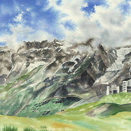 Summer in the Alps by Olivia Checiu