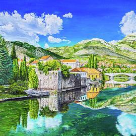 Summer in Trebinje by Biljana Reynolds