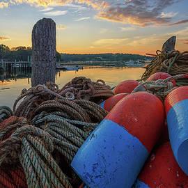 Summer Morning on the Docks by Kristen Wilkinson
