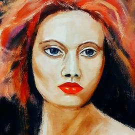 Summer portrait 2 by Mariana Raithel
