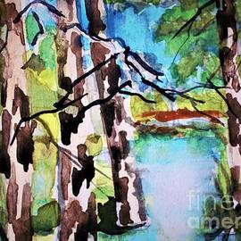 Summer Three Trees by Mindy Newman