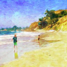 Summerland Beach by Jerome Stumphauzer