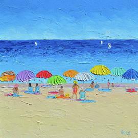 Summertime - Beach Art by Jan Matson