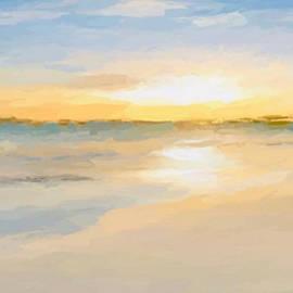 Sun Beach Bathing by Anthony Fishburne