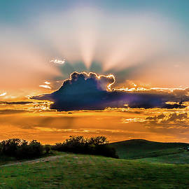 Sun Behind the Clouds by David Patterson