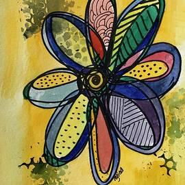 Sun Day Flower by Regina Roland