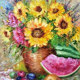 Sun Florets  by Marina Wirtz
