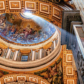 Sun Ray in St. Peters by Andrew Cottrill