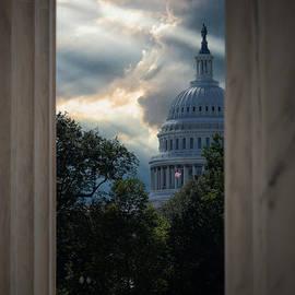 Sun Rays in DC by Derek Winters