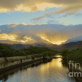 Sun Rise Over the Canal by Craig Wood