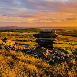 Sun Set On Bodmin Moor by Shaun Babb