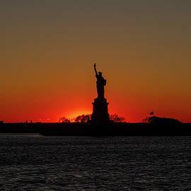 Sun Sets on Liberty by Sean Sweeney