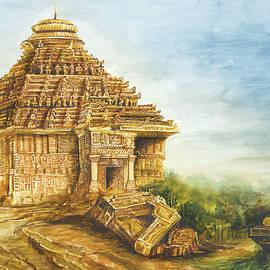 Sun temple, Konark by Ramesh Nair