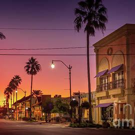 Sunbug Building at Sunrise, Venice, Florida by Liesl Walsh