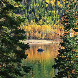 Sunday Morning on Navajo Lake by Donna Kennedy