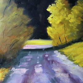 Sundown Landscape by Nancy Merkle