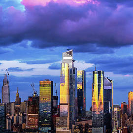 Sundown Sky Drama New York City