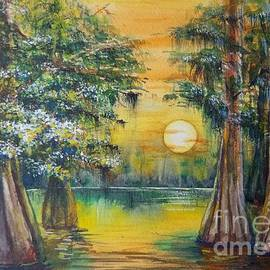 Sundown Swamp by Yuson Yi