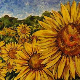 Sunflower Bliss by Tanya Hough